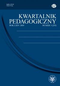 Kwartalnik Pedagogiczny 2019/3 (253) - Adam Fijałkowski - eprasa