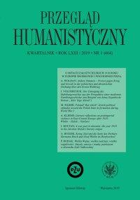 Przegląd Humanistyczny 2019/1 (464) - Alina Molisak - eprasa
