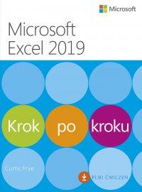 Microsoft Excel 2019. Krok po kroku - Curtis Frye - ebook