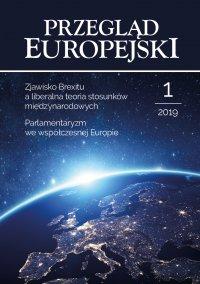Przegląd Europejski 2019/1 - Konstanty Adam Wojtaszczyk - eprasa