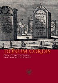 Donum cordis - Krzysztof Jakubiak - ebook