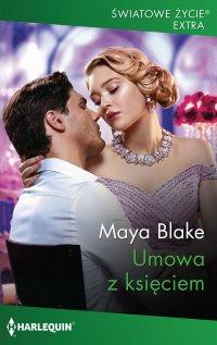Umowa z księciem - Maya Blake - ebook