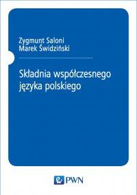 Składnia współczesnego języka polskiego - Zygmunt Saloni - ebook