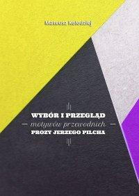 Wybór iprzegląd motywów przewodnich prozy Jerzego Pilcha - Mateusz Kołodziej - ebook