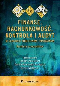 Finanse, rachunkowość, kontrola i audyt w sektorze publicznym i prywatnym. Studium przypadków - Tomasz Gabrusewicz - ebook