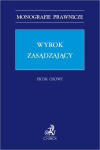Wyrok zasądzający - Piotr Osowy - ebook