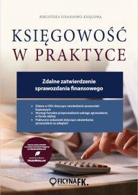Zdalne zatwierdzenie sprawozdania finansowego - dr Katarzyna Trzpioła - ebook