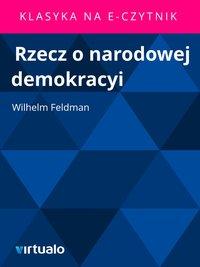 Rzecz o narodowej demokracyi