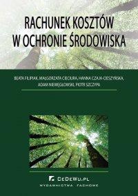 Rachunek kosztów w ochronie środowiska - Beata Filipiak - ebook