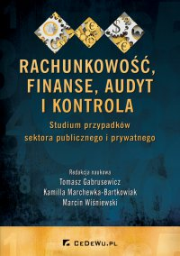 Rachunkowość, finanse, audyt i kontrola. Studium przypadków sektora publicznego i prywatnego - Tomasz Gabrusewicz - ebook