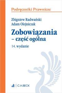 Zobowiązania - część ogólna. Wydanie 14 - Adam Olejniczak - ebook