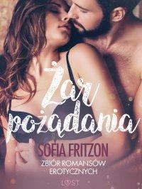 Żar pożądania. Zbiór romansów erotycznych - Sofia Fritzson - ebook