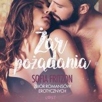 Żar pożądania. Zbiór romansów erotycznych - Sofia Fritzson - audiobook