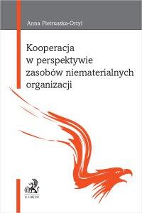 Kooperacja w perspektywie zasobów niematerialnych organizacji - Anna Pietruszka-Ortyl - ebook