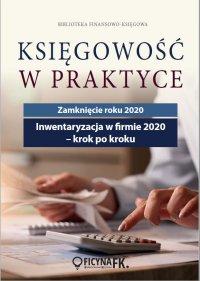Inwentaryzacja w firmie 2020 - krok po kroku - dr Katarzyna Trzpioła - ebook