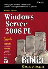 Windows Server 2008 PL. Biblia - Jeffrey R. Shapiro - ebook