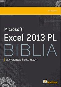 Excel 2013 PL. Biblia - John Walkenbach - ebook