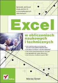 Excel w obliczeniach naukowych i technicznych - Maciej Gonet - ebook