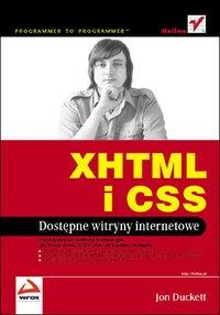 XHTML i CSS. Dostępne witryny internetowe - Jon Duckett - ebook