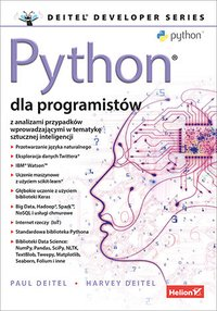 Python dla programistów. Big Data i AI. Studia przypadków - Paul J. Deitel - ebook