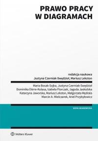 Prawo pracy w diagramach - Justyna Czerniak-Swędzioł - ebook