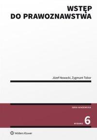 Wstęp do prawoznawstwa - Józef Nowacki - ebook