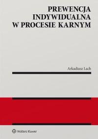 Prewencja indywidualna w procesie karnym - Arkadiusz Lach - ebook