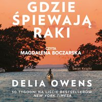 Gdzie śpiewają raki - Delia Owens - audiobook