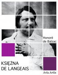 Księżna de Langeais - Honoré de Balzac - ebook