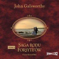 Saga rodu Forsyte'ów. Tom 2. Babie lato jednego z Forsyte'ów. W matni - John Galsworthy - audiobook