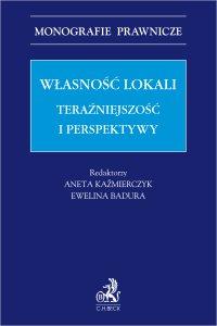 Własność lokali. Teraźniejszość i perspektywy - Ewelina Badura - ebook