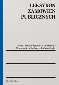 Leksykon zamówień publicznych - Włodzimierz Dzierżanowski - ebook