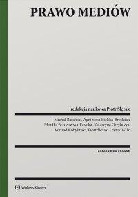Prawo mediów - Piotr Ślęzak - ebook
