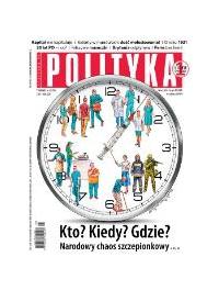 Polityka nr 3/2021 - Opracowanie zbiorowe - audiobook
