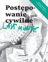 Last Minute. Postępowanie Cywilne. Styczeń 2021 - Bogusław Gąszcz - ebook
