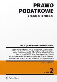 Prawo podatkowe z kazusami i pytaniami - Paweł Borszowski - ebook