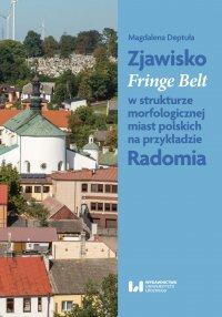 Zjawisko Fringe Belt w strukturze morfologicznej miast polskich na przykładzie Radomia - Magdalena Deptuła - ebook