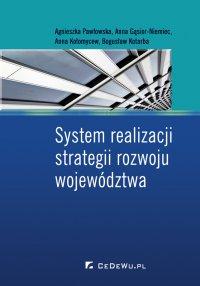 System realizacji strategii rozwoju województwa - Agnieszka Pawłowska - ebook