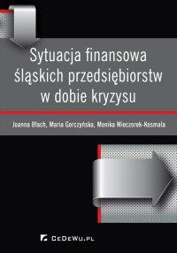 Sytuacja finansowa śląskich przedsiębiorstw w dobie kryzysu - Joanna Błach - ebook