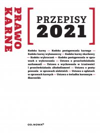 Prawo karne Przepisy 2021 - Agnieszka Kaszok - ebook