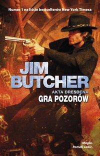 Gra pozorów - Jim Butcher - ebook