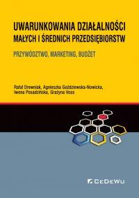 Uwarunkowania działalności małych i średnich przedsiębiorstw. Przywództwo, marketing, budżet - Rafał Drewniak - ebook