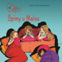 K jak Klara 4 - Śpimy u Malou - Line Kyed Knudsen - audiobook