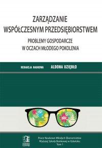 Zarządzanie współczesnym przedsiębiorstwem. Problemy gospodarcze w oczach młodego pokolenia. Tom 1 - Aldona Uziębło (red.) - ebook