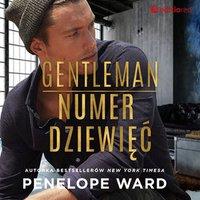 Gentleman numer dziewięć - Penelope Ward - audiobook