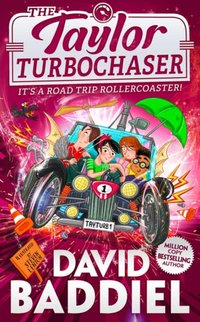 Taylor TurboChaser - David Baddiel - audiobook