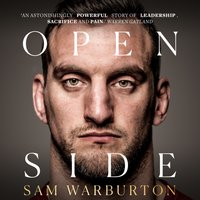 Open Side: The Official Autobiography - Sam Warburton - audiobook