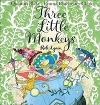Three Little Monkeys Ride Again - Quentin Blake - audiobook