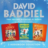 Brilliant Bestsellers by Baddiel (3-book Audio Collection): The Parent Agency, AniMalcolm, Head Kid - David Baddiel - audiobook