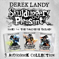 Skulduggery Pleasant: Audio Collection Books 7-9: The Darquesse Trilogy: Kingdom of the Wicked, Last Stand of Dead Men, The Dying of the Light - Derek Landy - audiobook